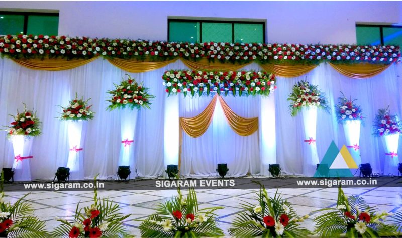 Reception Archives SIGARAM WEDDING DECORATORS